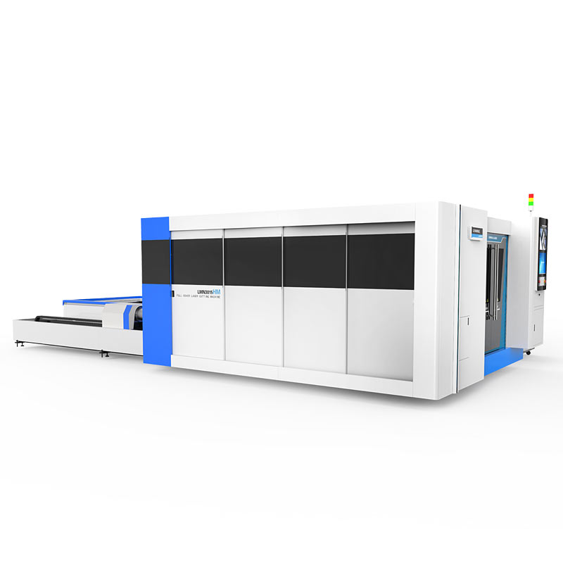 Full-protection metal tube lazer cutting machine